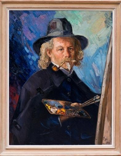 Jan Kruysen zelfportret | Museum Kruysenhuis
